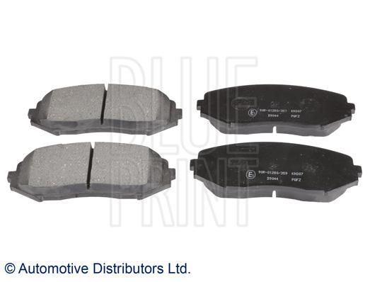 Kit de plaquettes de frein, frein à disque - BLUE PRINT - ADK84234
