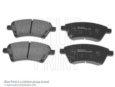 Kit de plaquettes de frein, frein à disque - BLUE PRINT - ADK84235