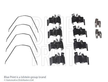 Kit d'accessoires, plaquette de frein à disque - BLUE PRINT - ADK848601