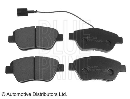 Kit de plaquettes de frein, frein à disque - BLUE PRINT - ADL144201