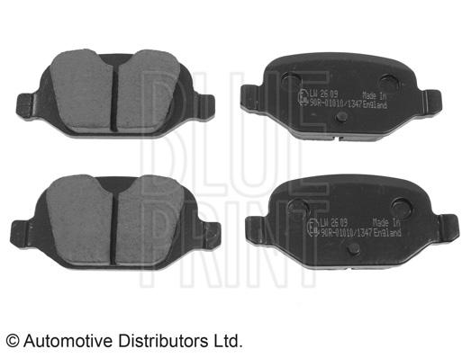 Kit de plaquettes de frein, frein à disque - BLUE PRINT - ADL144205