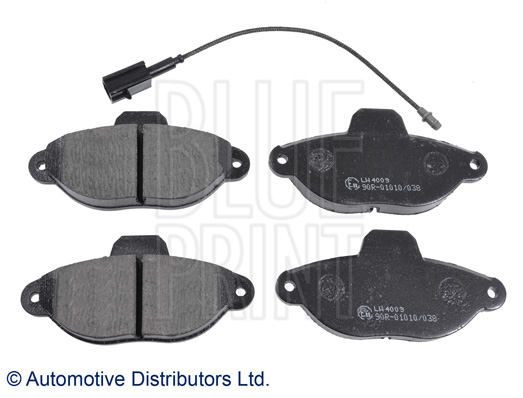 Kit de plaquettes de frein, frein à disque - BLUE PRINT - ADL144206