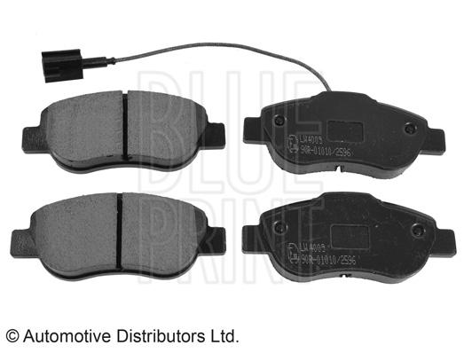 Kit de plaquettes de frein, frein à disque - BLUE PRINT - ADL144207