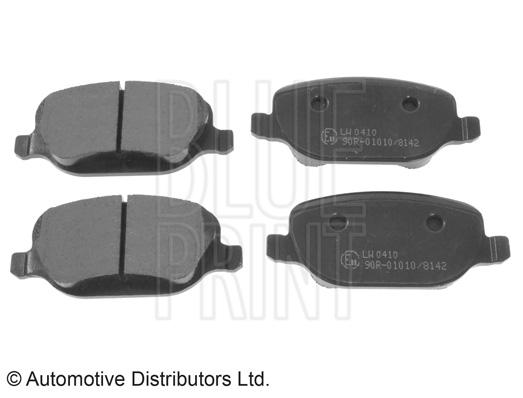 Kit de plaquettes de frein, frein à disque - BLUE PRINT - ADL144209