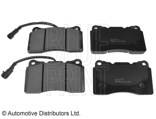 Kit de plaquettes de frein, frein à disque - BLUE PRINT - ADL144210