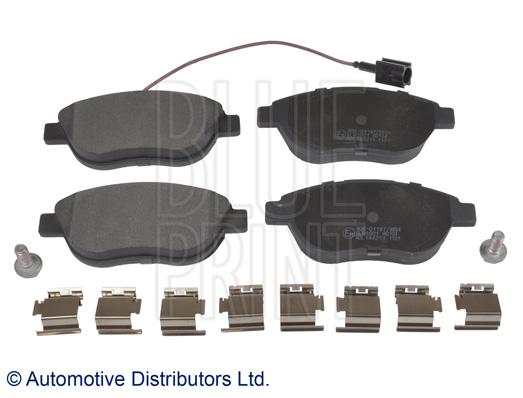 Kit de plaquettes de frein, frein à disque - BLUE PRINT - ADL144211
