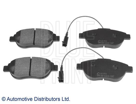Kit de plaquettes de frein, frein à disque - BLUE PRINT - ADL144213