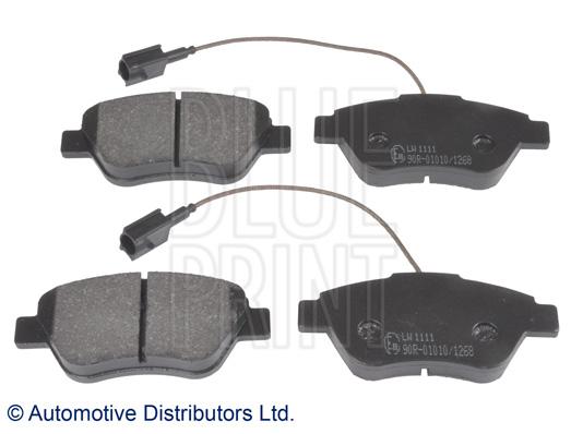 Kit de plaquettes de frein, frein à disque - BLUE PRINT - ADL144214