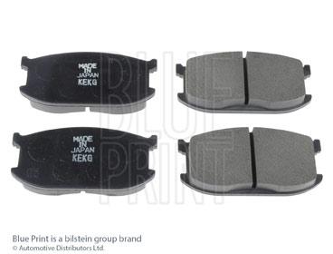 Kit de plaquettes de frein, frein à disque - BLUE PRINT - ADM54202