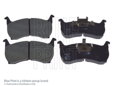 Kit de plaquettes de frein, frein à disque - BLUE PRINT - ADM54209