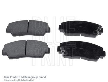 Kit de plaquettes de frein, frein à disque - BLUE PRINT - ADM54210