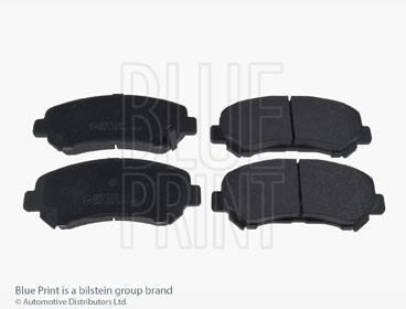 Kit de plaquettes de frein, frein à disque - BLUE PRINT - ADM542100