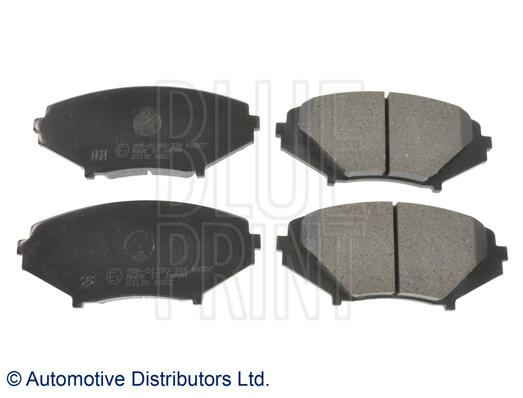 Kit de plaquettes de frein, frein à disque - BLUE PRINT - ADM542101