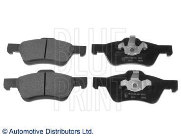 Kit de plaquettes de frein, frein à disque - BLUE PRINT - ADM542102