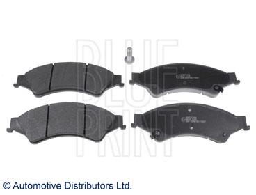 Kit de plaquettes de frein, frein à disque - BLUE PRINT - ADM542104