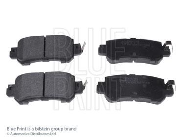 Kit de plaquettes de frein, frein à disque - BLUE PRINT - ADM542105