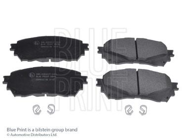 Kit de plaquettes de frein, frein à disque - BLUE PRINT - ADM542106