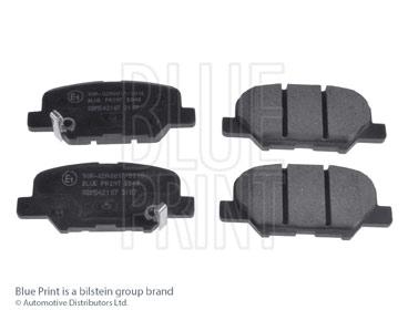 Kit de plaquettes de frein, frein à disque - BLUE PRINT - ADM542107