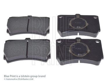 Kit de plaquettes de frein, frein à disque - BLUE PRINT - ADM54211