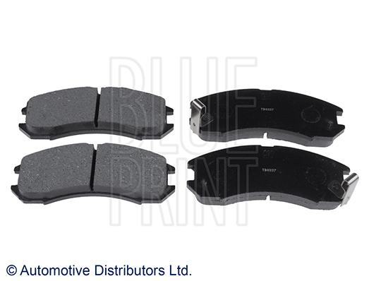 Kit de plaquettes de frein, frein à disque - BLUE PRINT - ADM54222