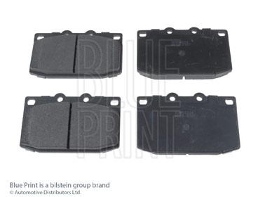 Kit de plaquettes de frein, frein à disque - BLUE PRINT - ADM54224