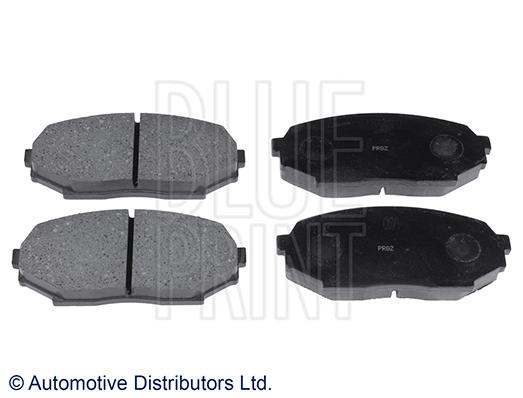 Kit de plaquettes de frein, frein à disque - BLUE PRINT - ADM54228