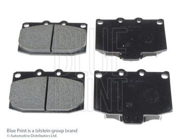 Kit de plaquettes de frein, frein à disque - BLUE PRINT - ADM54229