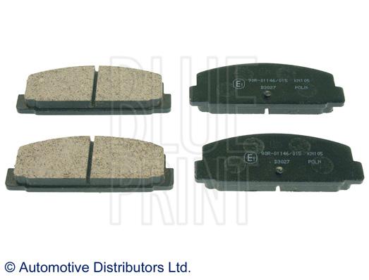 Kit de plaquettes de frein, frein à disque - BLUE PRINT - ADM54248