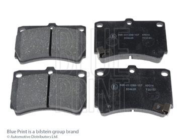 Kit de plaquettes de frein, frein à disque - BLUE PRINT - ADM54249