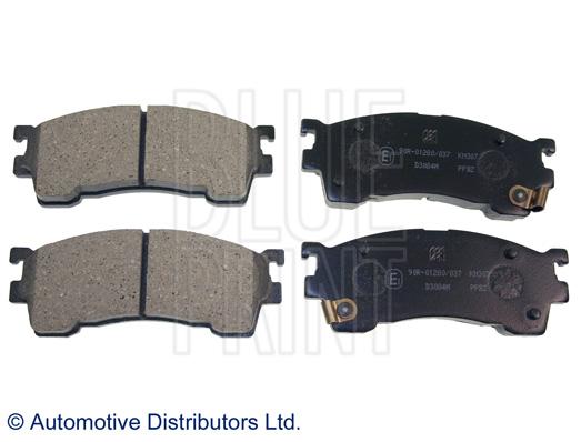 Kit de plaquettes de frein, frein à disque - BLUE PRINT - ADM54250