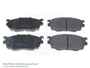 Kit de plaquettes de frein, frein à disque - BLUE PRINT - ADM54255
