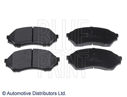 Kit de plaquettes de frein, frein à disque - BLUE PRINT - ADM54266