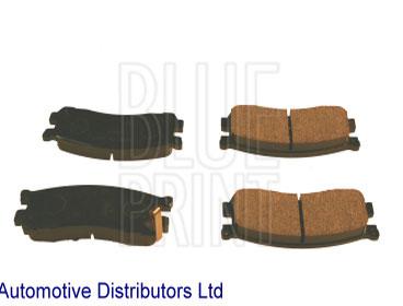Kit de plaquettes de frein, frein à disque - BLUE PRINT - ADM54271