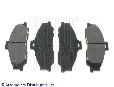 Kit de plaquettes de frein, frein à disque - BLUE PRINT - ADM54272
