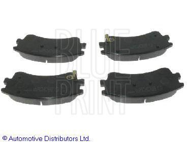 Kit de plaquettes de frein, frein à disque - BLUE PRINT - ADM54277