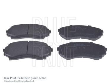 Kit de plaquettes de frein, frein à disque - BLUE PRINT - ADM54285