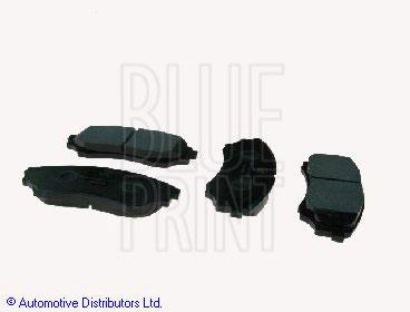 Kit de plaquettes de frein, frein à disque - BLUE PRINT - ADM54286