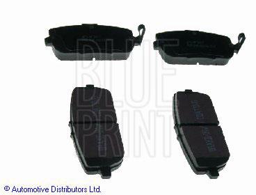 Kit de plaquettes de frein, frein à disque - BLUE PRINT - ADM54291