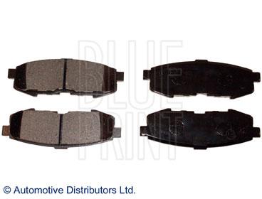 Kit de plaquettes de frein, frein à disque - BLUE PRINT - ADM54292