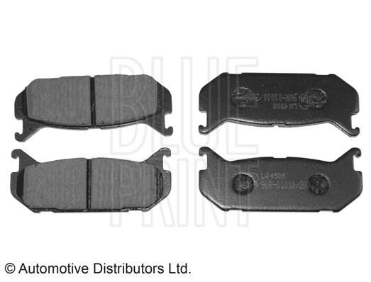 Kit de plaquettes de frein, frein à disque - BLUE PRINT - ADM54293