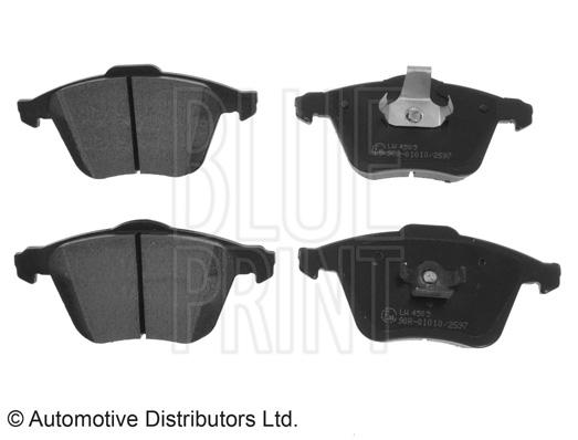 Kit de plaquettes de frein, frein à disque - BLUE PRINT - ADM54299