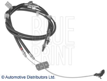 Tirette à câble, frein de stationnement - BLUE PRINT - ADM546128
