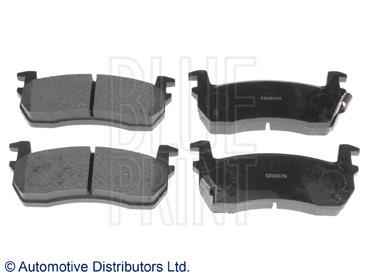 Kit de plaquettes de frein, frein à disque - BLUE PRINT - ADN142100
