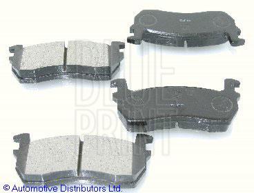 Kit de plaquettes de frein, frein à disque - BLUE PRINT - ADN14212