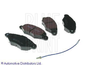 Kit de plaquettes de frein, frein à disque - BLUE PRINT - ADN142122