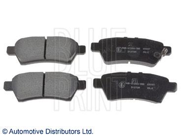 Kit de plaquettes de frein, frein à disque - BLUE PRINT - ADN142135