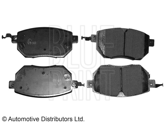 Kit de plaquettes de frein, frein à disque - BLUE PRINT - ADN142136