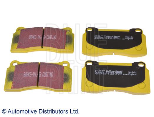 Kit de plaquettes de frein, frein à disque - BLUE PRINT - ADN142150