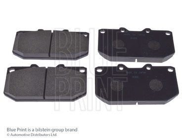 Kit de plaquettes de frein, frein à disque - BLUE PRINT - ADN14236