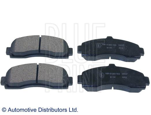 Kit de plaquettes de frein, frein à disque - BLUE PRINT - ADN14290
